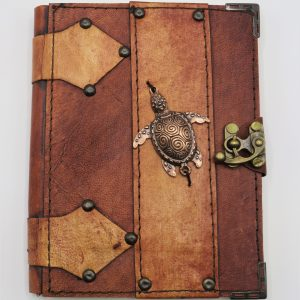 Leather Journal Turtle